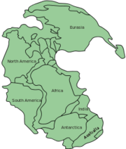 220px-Pangaea continents