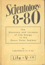 Scientology 8-80 1952 softcover