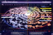 Galactic star chart