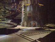 Cylon hangar