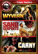 Maneater Series Triple Feature Wyvern, Sand Serpents, Carny