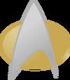 Logo Sternenflotte TNG
