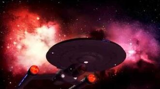 STAR TREK - BREAKABLE I.S.S. PHOENIX NCC-104