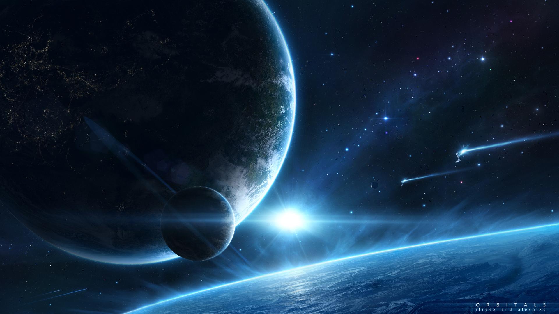 image - space fantasy hd wallpaper-34 jpg orbitals 1920x1080