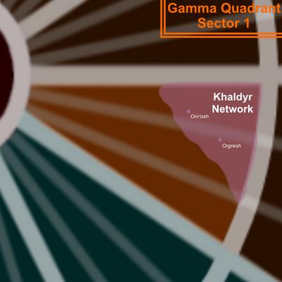 Gamma 1 Map