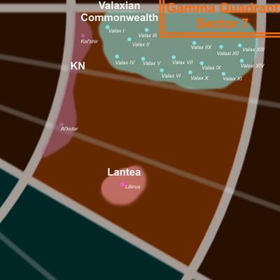 Gamma 7 Map
