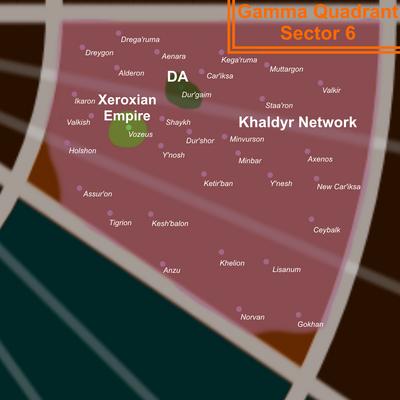 Gamma 6 Map