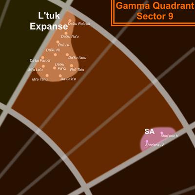 Gamma 9 Map