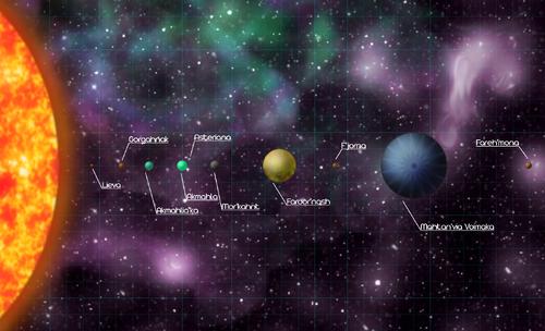 Stelaria Solar Map (Grid)
