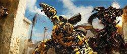 Bumblebee vs. Rampage