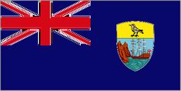 Tristan Island Flag