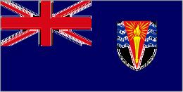 Car Virgin Islands Flag