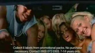 S Club 7's Sunny Delight Commercial