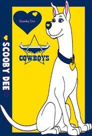 NRL Grand Final Scooby Dee North Queensland Cowboys