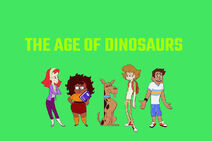 Mysteries of Scooby-Doo! titlecard (The Age of Dinosaurs)
