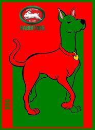 NRL Grand Final Scooby Dee South Sydney Rabbitohs