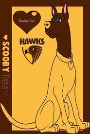 Scooby Dee Hawthorn Hawks2