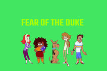 Mysteries of Scooby-Doo! titlecard (Fear of the Duke)