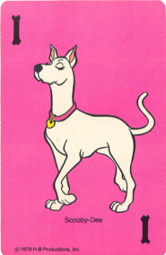 Scooby Dee Game Card