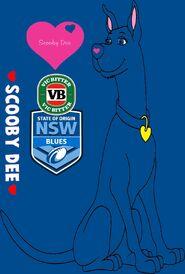 State Of Origin Scooby Dee NSW VB Blues 2