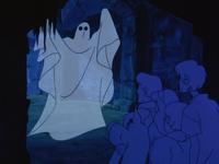 The gang meet the Phantom of Vasquez Castle
