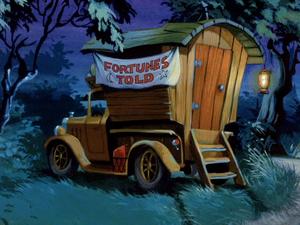 Gypsy wagon (A Gaggle of Galloping Ghosts)