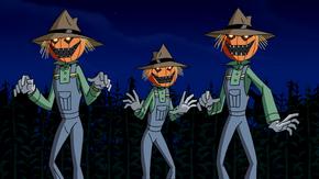 Scarecrow robot