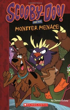 Scooby-Doo! and the Monster Menace cover