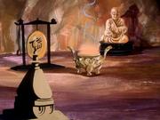 Interior of Fu Lan Chi's cave