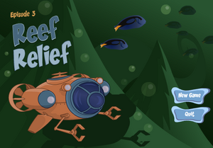 Reef Relief title card