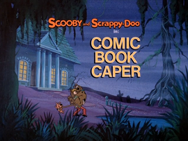 Comic Book Caper Title Card