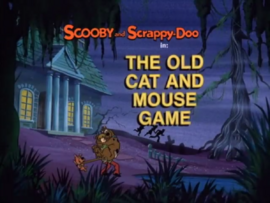 The Old Cat and Mouse Game title card