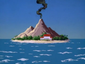 South Seas island