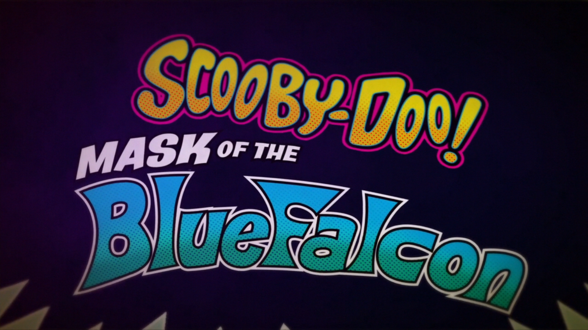 Scooby Doo Mask Of The Blue Falcon Intro