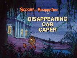 Disappearing Car Caper Title Card