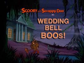 Wedding Bell Boos! title card