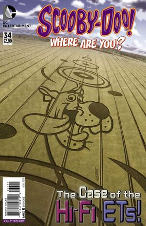WAY 34 (DC Comics) front cover