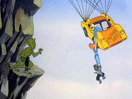 Gremlin sabotaged the stunt