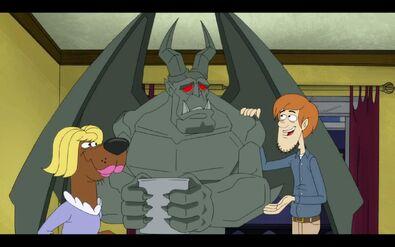 Wyluzuj,Scooby-Doo! PsiaSprawiedliwość GargulecScoobyKudłaty