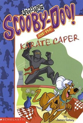 Scooby-Doo! and the Karate Caper cover