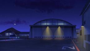 Hangar (Gremlin on a Plane)