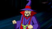 Krudsky wearing sorcerer robe