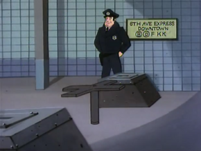 Subway station (The Ransom of Scooby Chief)