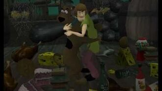 Ps2 Scooby-Doo! Night of 100 Frights cinematics. 2 HQ