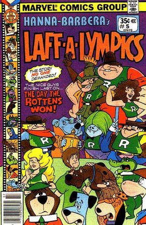 LaL 5 (Marvel Comics) front cover
