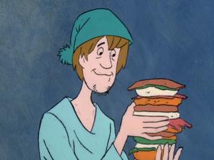Shaggy Super Sandwich