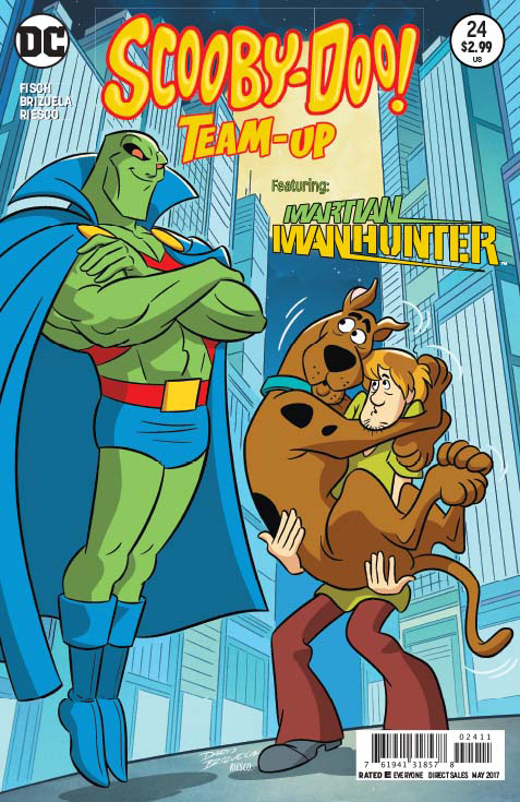 Image result for Mar 22 2017--SCOOBY-DOO TEAM-UP # 24--Martian Manhunter