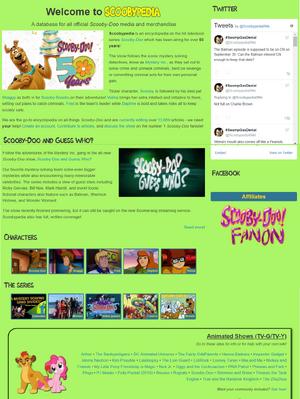 Scooby-Doo Mainpage Draft