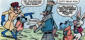 Dastardly and Muttley visit