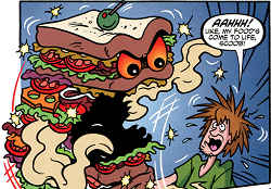 Shaggy and the Killer Sandwich